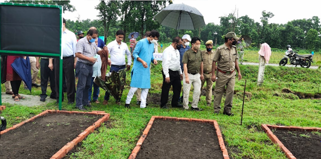 West Bengal Forest Minister inaugurates herbal park near Siliguri