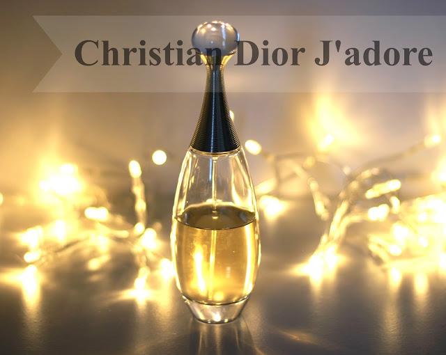 Christian Dior J'adore perfume bottle