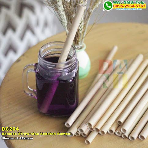 Bamboo Straw Atau Sedotan Bambu