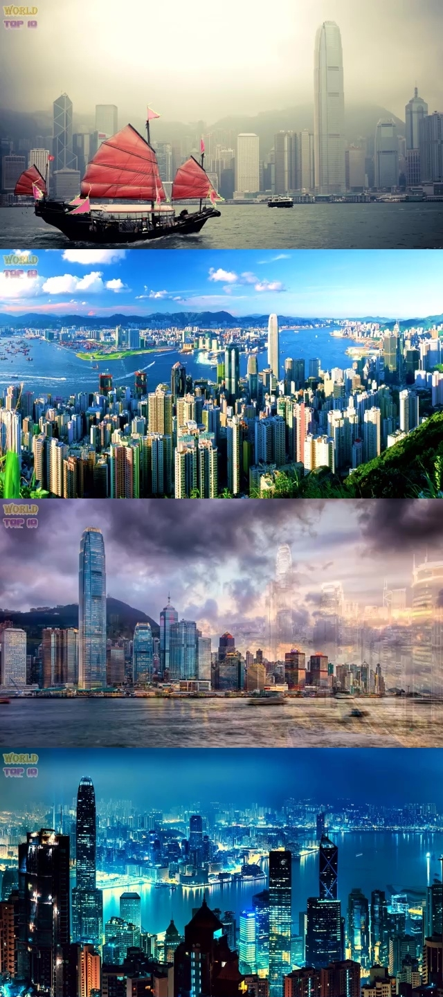 TOP 10 MOST BEAUTIFUL CITIES IN ASIA 2019 5. Hong Kong