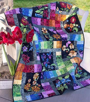 Enchanted Garden BOM Shabby Fabrics