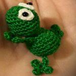 patron gratis rana amigurumi | free pattern amigurumi frog