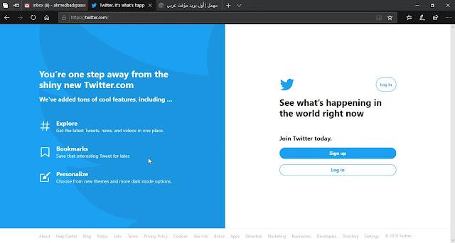 كيفية عمل حساب تويتر بدون هاتف