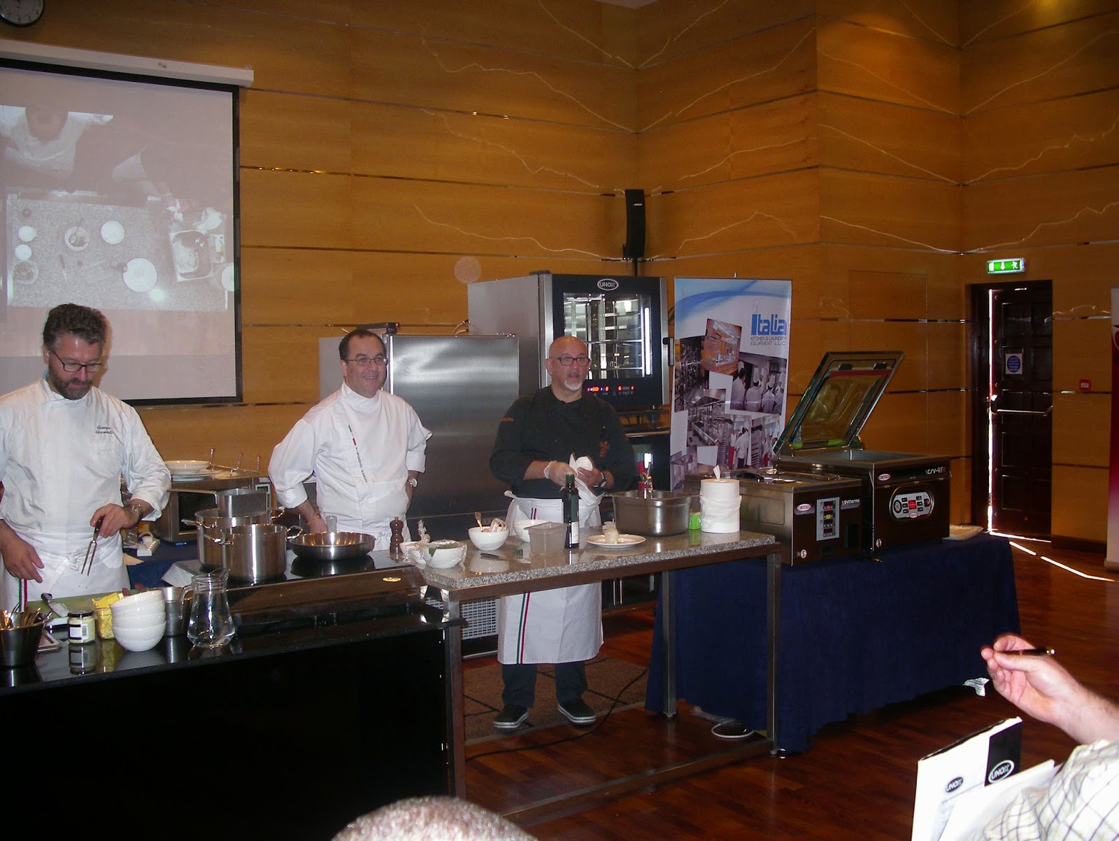 Sadler Masterclass @Italian Cuisine World Summit 2014