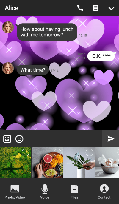 Shiny Design Type-G PurpleHeart