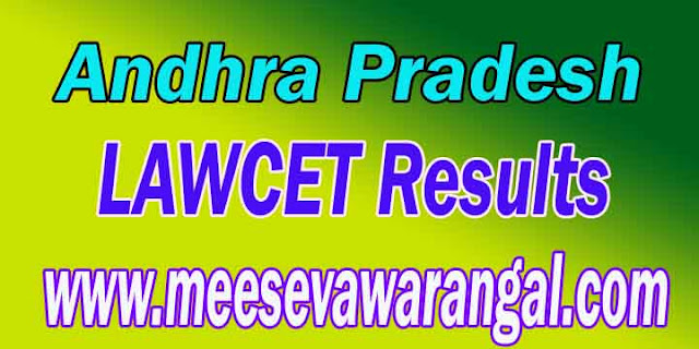 APLAWCET 2017 / APPGLCET 2017 Results Download