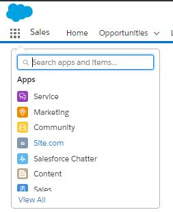 App Launcher Experience