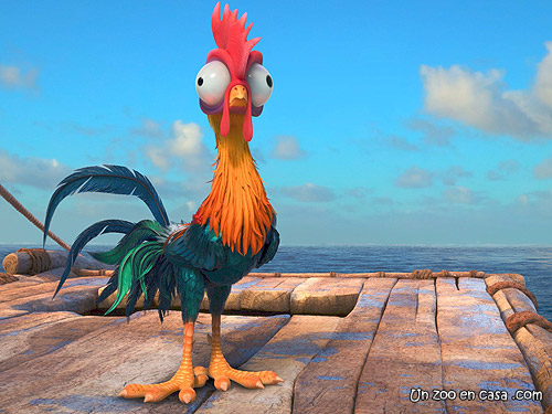 Heihei, el gallo de Moana