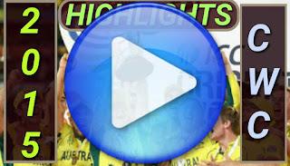 Cricket Videos - ICC CWC 2015 Video Highlights