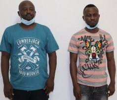 Two Nigerians Under Custody