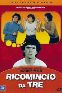 Poster Ricomincio da tre