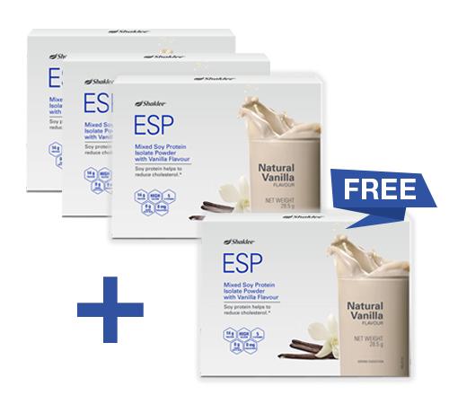 ESP SHAKLEE BAHARU DALAM PEK MUDAH BAWA ~ Newly Launched ESP Sachet