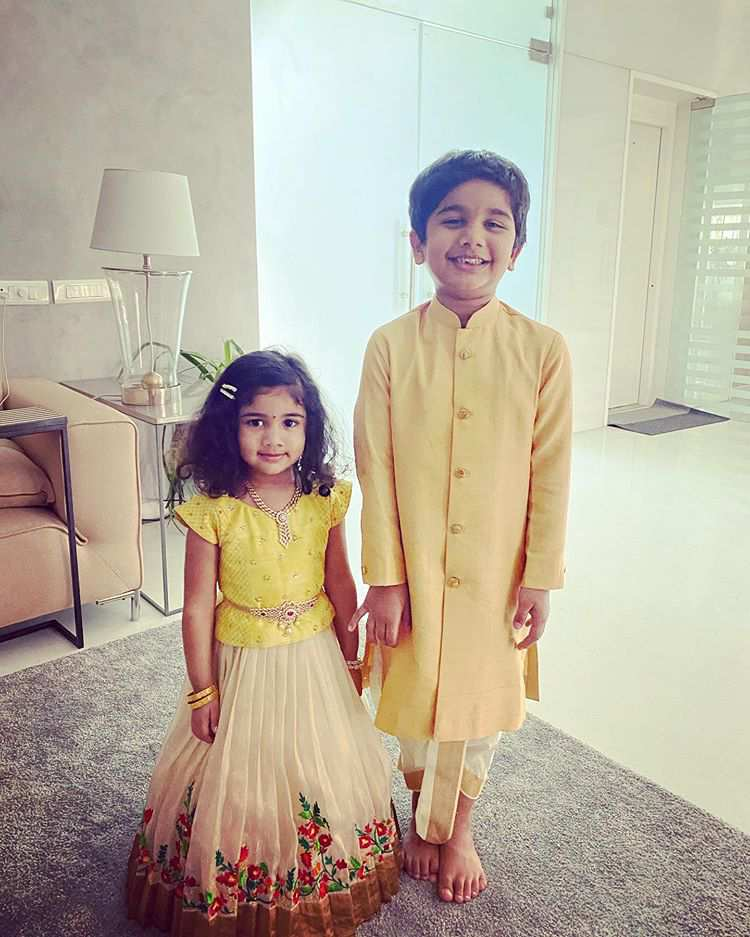 Allu Arjun children picture