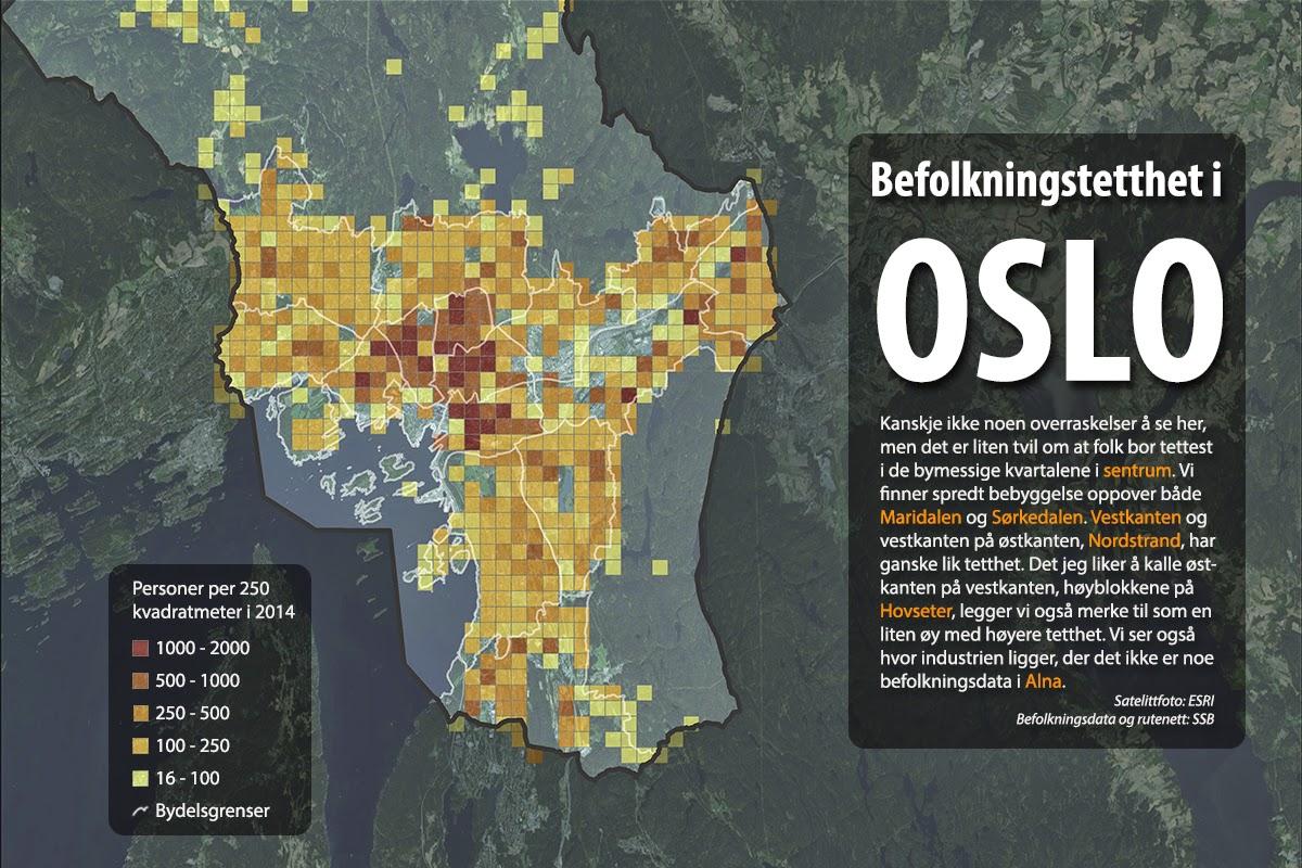 bydelsgrenser oslo kart Kart og grafer om alt: Endelig  bydelsgrenser oslo kart