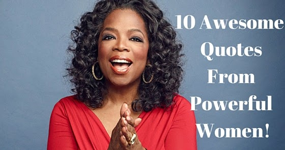 powerful women When women succeed everyone succeeds whether on your way to empowerment or already building a legacy powerful women today will awaken, nourish and re-charge your spirit, your confidence, your inner drive.