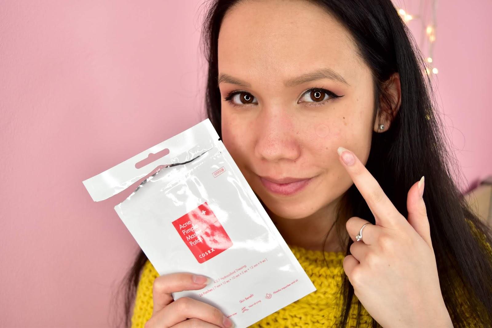 COSRX Acne Pimple Master Patch aplikácia