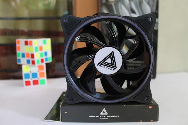 kipas casing pc dazzling paradox gaming 1200 rpm dengan LED RGB