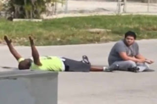 Police shoot unarmed black therapist