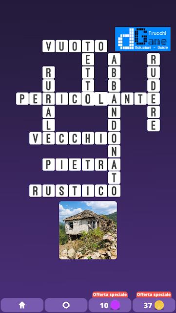 Soluzioni One Clue Crossword livello 26 schemi 13 (Cruciverba illustrato)  | Parole e foto