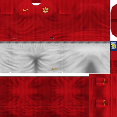 PES 6 Kits Indonesia National Football Team Season 2018/2019 by Dewatupai