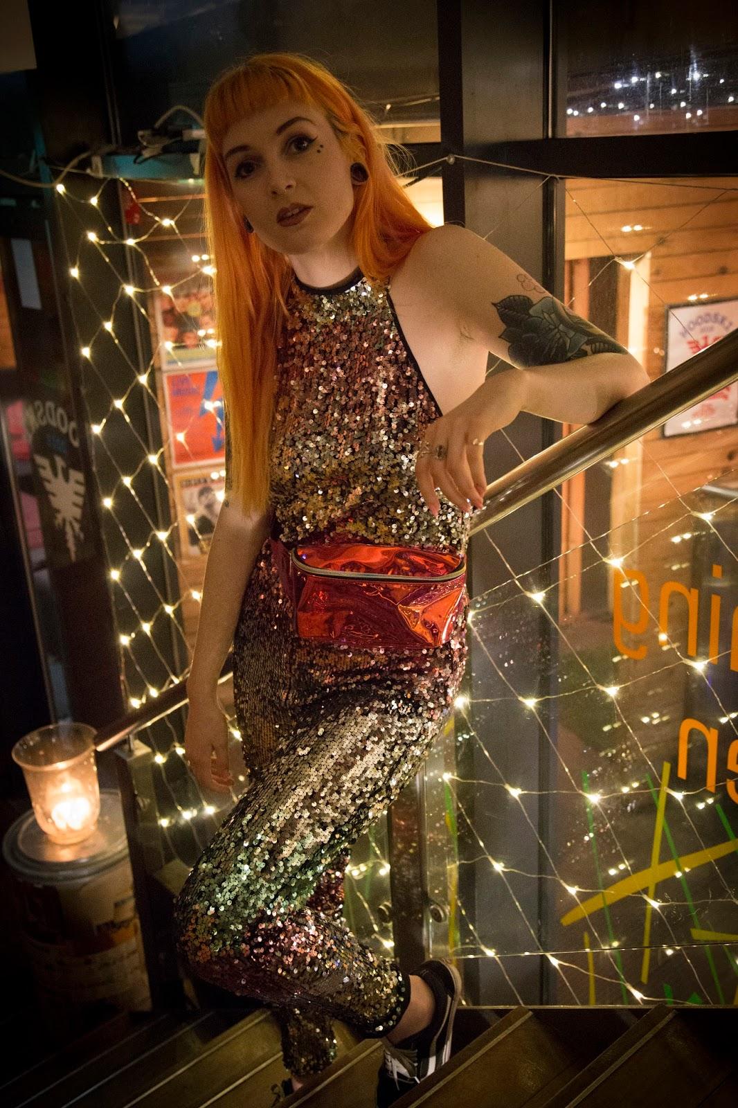 Alternative Fashion Blogger Foxxtailz styles Pretty Little thing