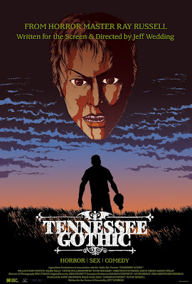Official poster art for Jeff Wedding's TENNESSEE GOTHIC!