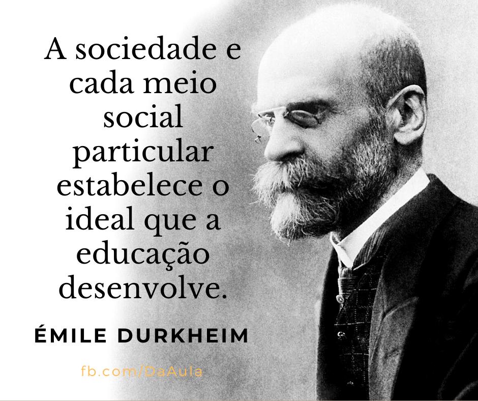 Quem foi Émile Durkheim