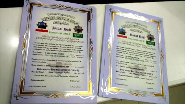 Undangan Badal Haji