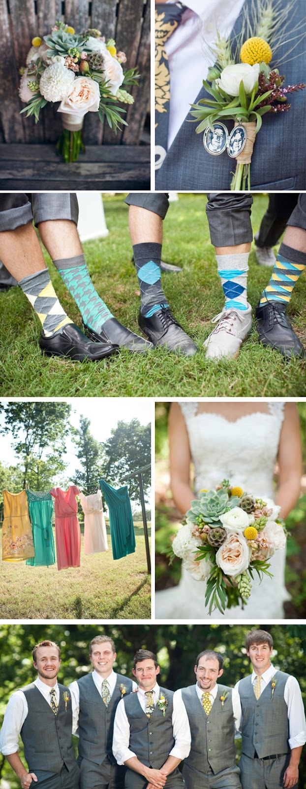 whimsical pastel DIY wedding