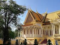 Mãn nhãn với vẻ đẹp tráng lệ của cung điện Hoàng gia Campuchia