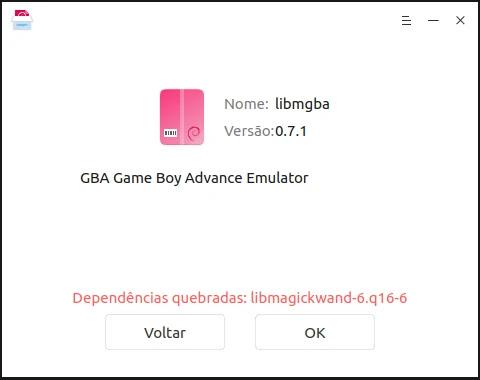 erro-dependencia-emulador-mgba-nintendo-gb-gbc-gba-linux-mint-ubuntu-snap-deb-flatpak