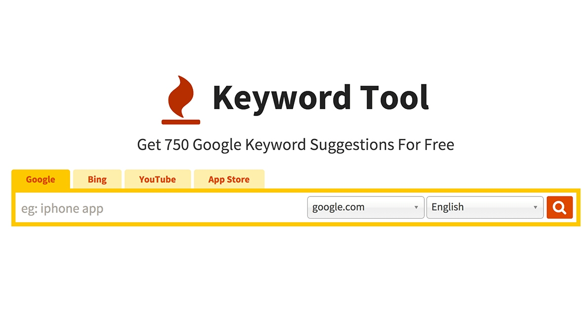 Keywordtool.io Best Keyword Research Tools