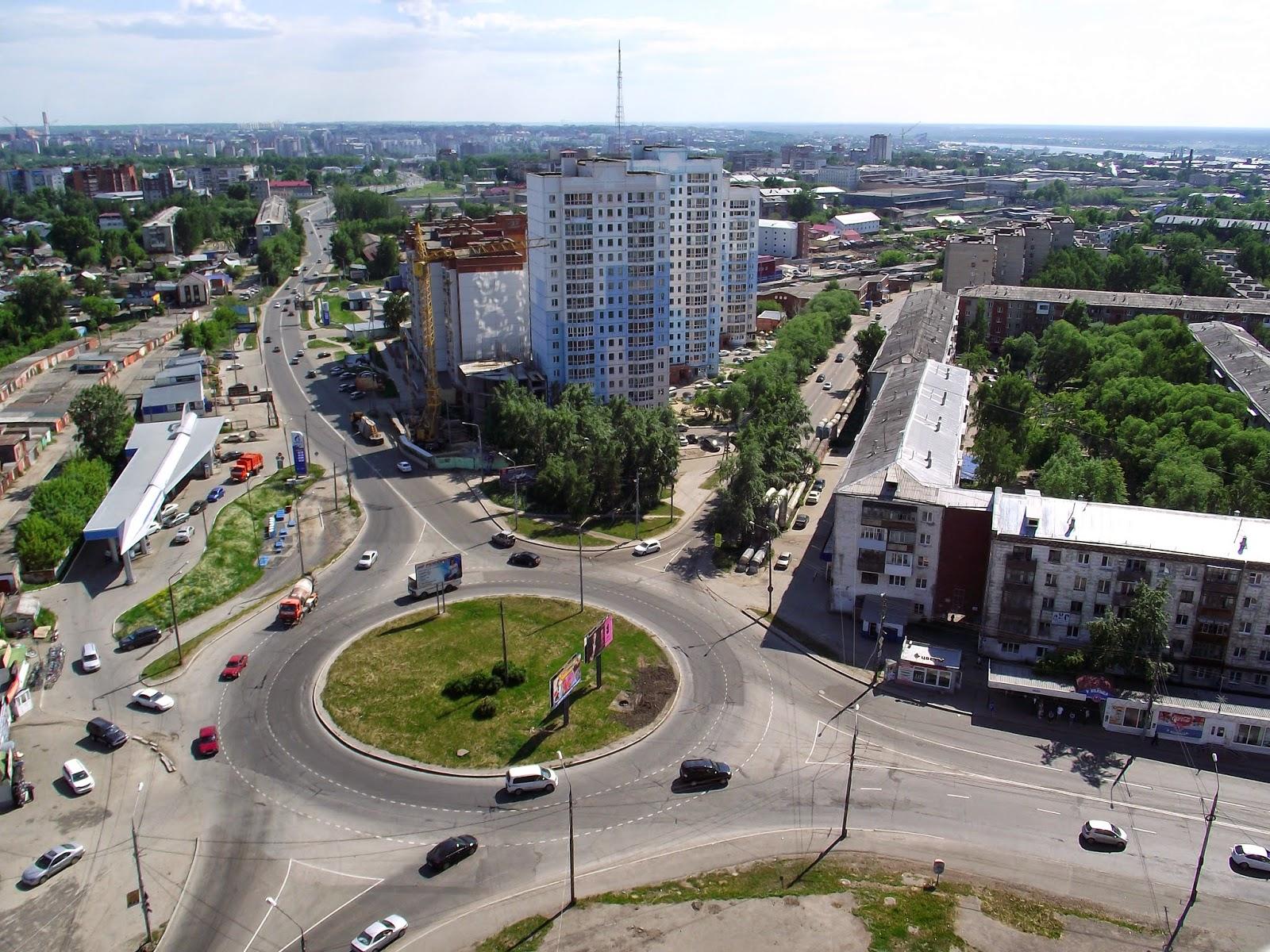 Площадь Жукова Томск