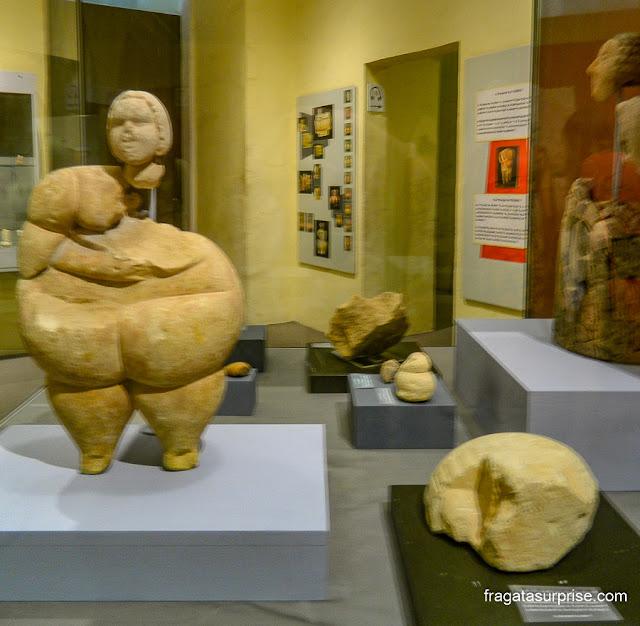 Vênus de Malta, escultura neolítica típica dos templos megalíticos