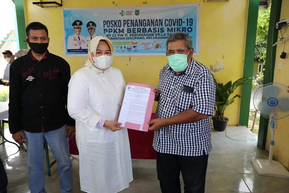 Wagub Kepri Gesa Vaksinasi Ketua RT dan RW