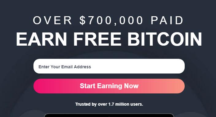 Earn Free Bitcoin Online 2021