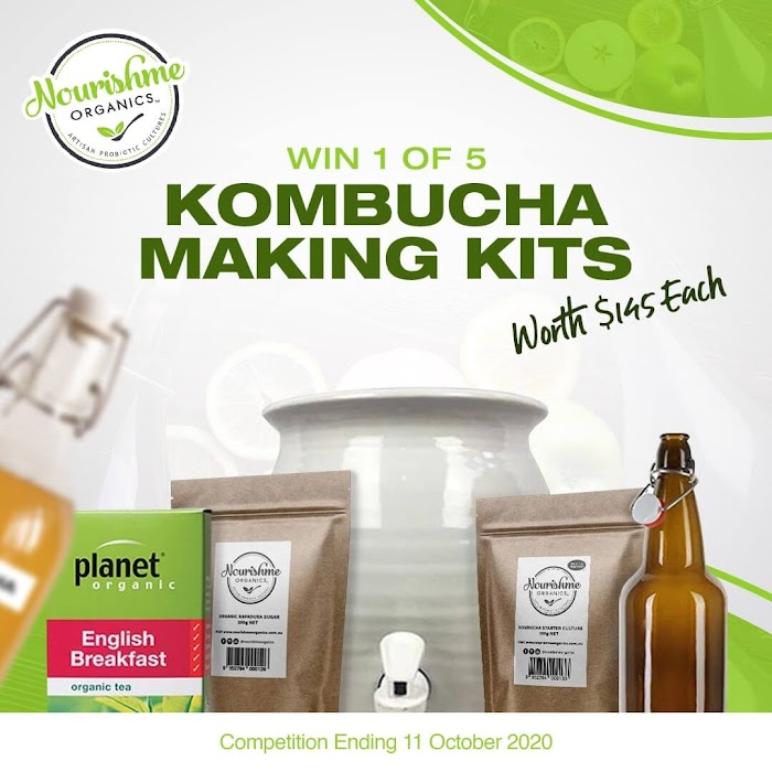Kombucha Making Kit Global Giveaway (Worth Over : $725)
