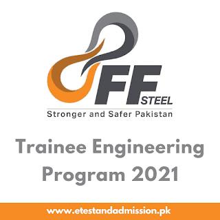 FF Steel Trainee Engineering Program 2021