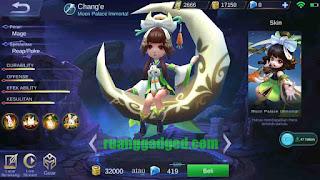 Story Hero Baru Chang'e Mobile Legends