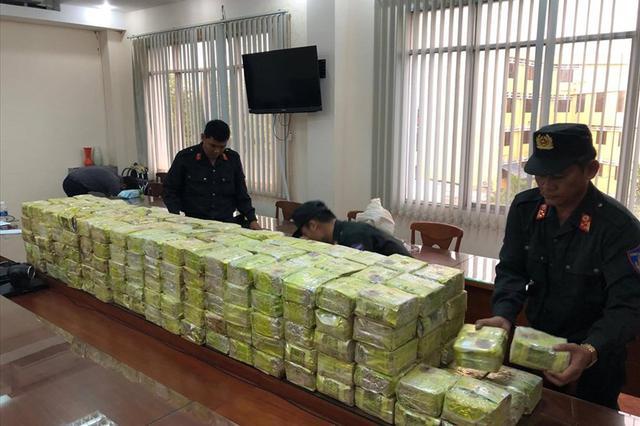 Phá đại án nửa tấn ma túy, bắt 8 người Trung Quốc ở Tp.HCM