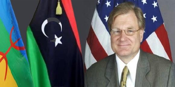 السفير الامريكي ليبيا الامازيغ