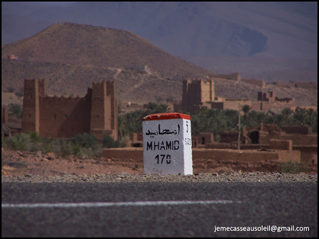 Vallée du Drâa sur la route de M'Hamid