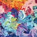 Lukisan aliran Abstrak: coretan tidak berpola namun penuh pesona