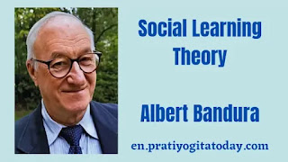 Social learning theory of albert bandura