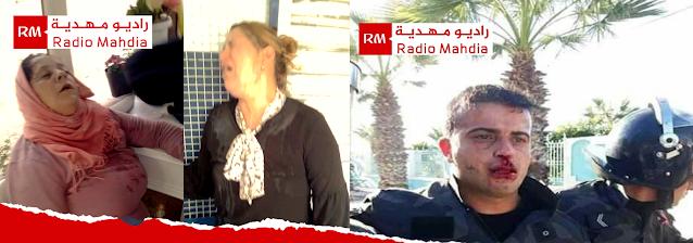 ارتفاع وتيرة الاحتجاجات بمدينة الشابة وتسجيل إصابات في صفوف الأمنيين والمحتجين