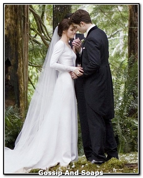 Lifestyle Vanity Kristen Stewart S Breaking Dawn Wedding