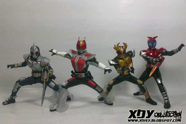 XDeiY CoLLecTioN: List Kamen Rider To Repaint With YB Amin