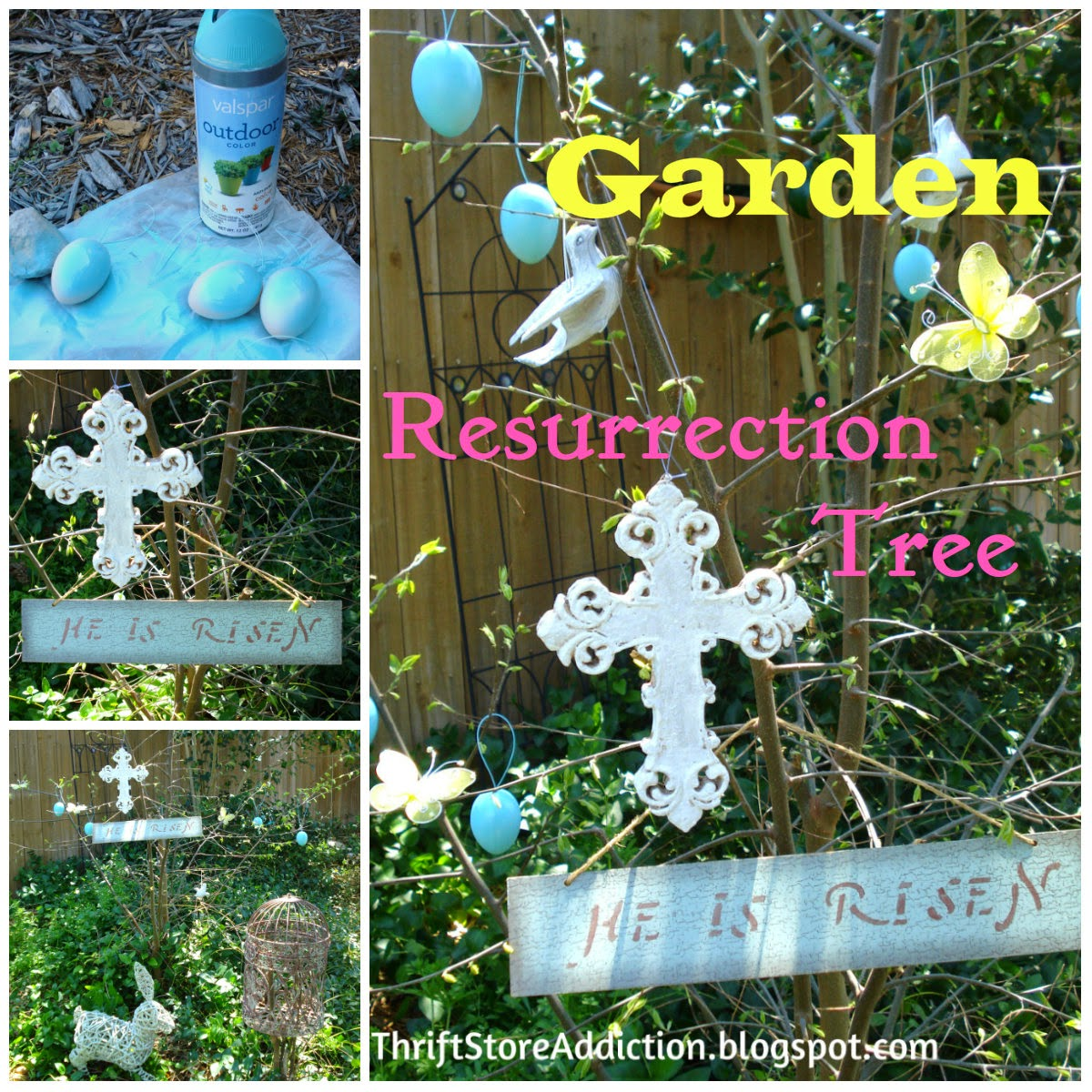 Easter resurrection tree