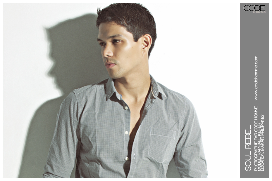 Code Homme | Models  Athletes  Celebrities : Raphael Kiefer