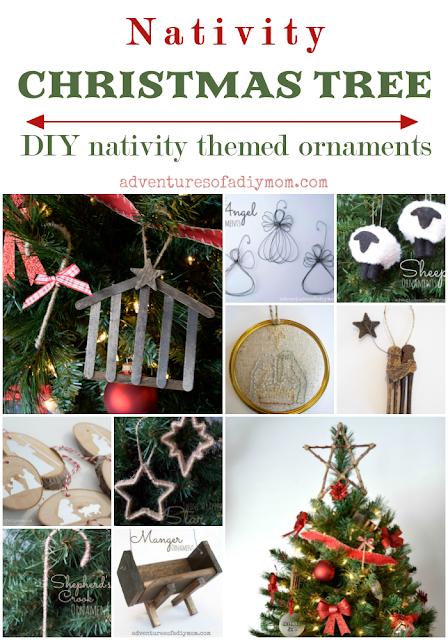 DIY Nativity Christmas Ornaments